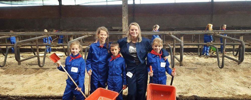 Klavertjeshof laat kinderen proeven van boerenleven